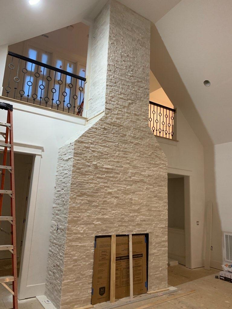 Ledgerstone Fireplace