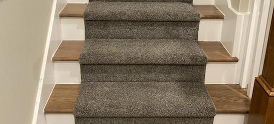 Stair refinishing