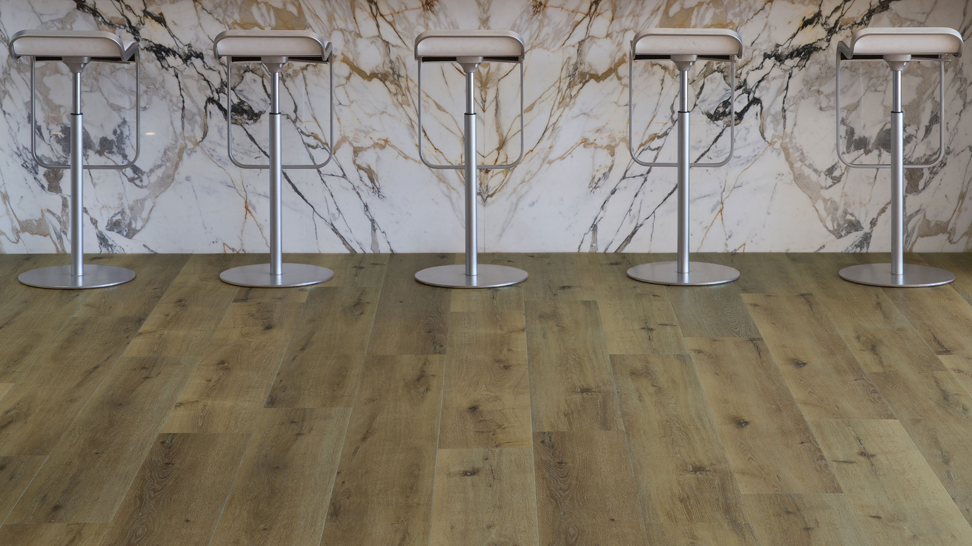 Luxury Vinyl Flooring in bar